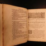 1651 English Civil War Charles I Certamen Religiosum Royalist Bayly Cartwright