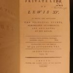 1781 1st English ed Life of Louis XV of France Seven Years War d'Angerville
