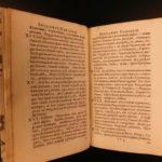 1702 1ed Pechlin Dutch Medicine & Smoking Tobacco Digestion Anatomy Illustrated
