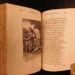 1659 Herman Hugo Pia Desideria Emblemata Illustrated Emblems Pope Urban VIII