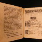 1568 RARE Lives of Catholic Popes Cardinals Girolamo Garimberto Italian Papacy