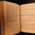 1695 Contemplations Moral & Divine Matthew Hale LAW George Washington Influence
