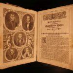1706 HUGE FOLIO German Martin Luther BIBLE Biblia Illustrated Nuremberg Complete