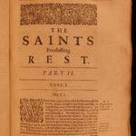 1662 Saints Everlasting Rest Richard Baxter PURITAN Bible Devotional on HEAVEN
