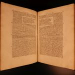 1551 Juvenal & Persius SATIRES Froben HUGE FOLIOS Curio Stoic Philosophy ROME