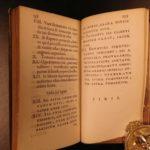 1636 1ed Elzevir Virgilio Malvezzi Marchionis Princeps Rome Spain Secret Court