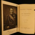 1888 1st ed Personal Memoirs General Sheridan Union Civil War Native Americans