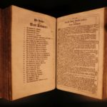 1736 Basel Switzerland German BIBLE Martin Luther Illustrated MAPS Thurneysen