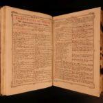 1799 Exquisite FOLIO Catholic Breviary Roman Missal Music Illustrated Kempten