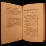 1764 Baker Microscope SCIENCE Chemistry Biology Experiments Salt Crystals RARE