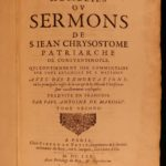 1664 Bible Sermons Byzantine Orthodox Saint John Chrysostom Constantinople SET