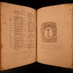 1560 John Calvin Bible & Commentary Book of Acts Martyrs Crespin Binding FOLIO