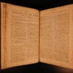1754 John Flavel Treatise Soul of Man Presbyterian Puritan Bible Sermons Folio