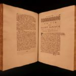 1679 1ed Life of Ignatius of Loyola JESUIT Founder Dominique Bouhours Catholic