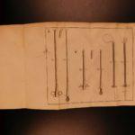 1766 1st ed Andre Levret Medicine Obstetrics Pregnancy Childbirth Forceps OBGYN