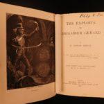 1896 1st ed A. Conan Doyle Exploits of Brigadier Gerard Napoleonic Military