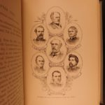 1890 1ed Jefferson Davis Confederate States President Civil War Battles SLAVERY
