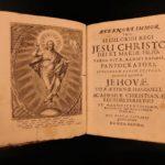 1671 Witchcraft Gottlieb Spitzel Vetus Academia Iconibus Illustrated Saints