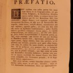 1756 Pope Benedict XIV Diocesan Synods Ecclesiastical LAW Catholic Church 2v SET