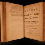 1693 English State Tracts King Charles II England Popish Plot Parliament Letters
