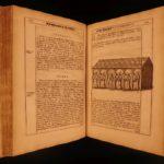 1686 1st ed Peterburgh Cathedral Simon Gunton Illustrated Monastics England