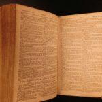 1824 Boston BIBLE Massachusetts WHALING Fishing Ship Mermaid Whales Americana