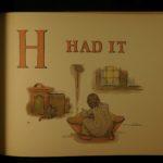 1910 Kate Greenaway Apple Pie Color Illustrated Children's Alphabet Literature