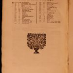 1706 Aulus Gellius Attic Nights Noctes Atticae Ancient ROME Greece Philosophy