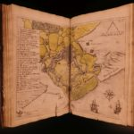 1657 1ed War & Military of Francis Vere Eighty Years War Spain Netherlands MAP