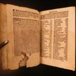 1539 LAW Filippo Decio Commentary on Corpus Juris Civilis Roman Justinian ROME