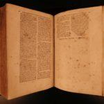 1564 Swabia Johannes Nauclerus World Chronicle Mythology Bible Tortures FOLIOS