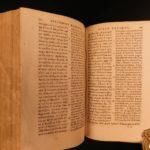 1596 GREEK Heliodorus ETHIOPIA History Mythology Egypt Persia Aethiopica Latin