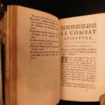 1677 Spiritual Warfare Combat Lorenzo Scupoli Catholic Angels Demons Sin