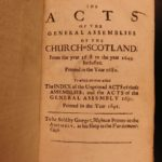 1682 Church of Scotland Scottish Assembly British Protestant Glasgow Edinburgh