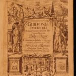 1660 Guido Panciroli Memorabilium Discoveries in America Inventions ALCHEMY