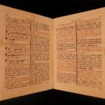 1777 Catholic Missa Defunctorum Requiem MASS Liturgy Senis Sardinia Music Chant