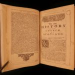 1680 True History Church of Scotland Calderwood England Scottish Edinburgh FOLIO