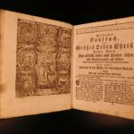 1780 Erhard Christian Hausbuch German Devotional w/ Chiromancy & Occult ART