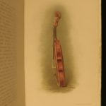 1891 1ed The Antonio Stradivarius Messiah Salabue VIOLIN Music Illustrated Hill