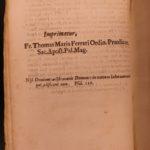 1695 Spanish Saint Ignatius of Loyola Spiritual Exercises JESUIT Agnelli PLATES