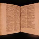 1547 ENORMOUS Platea LAW Commentary on Justinian Institutes Corpus Juris Civilis