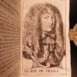 1673 1st ed Mercure Holland Louis XIV Propaganda Prince of Orange Dutch WARS