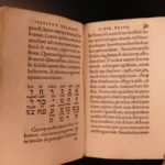 1535 1st ed Hebrew Grammar by Swiss Theodore Bibliander Manual Judaism Judaica