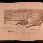 1789 1ed PRISONS Lazarettos PLAGUE Hospitals Insanity Castles Illustrated Howard