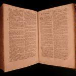1586 Works VIRGIL Aeneid Georgics Mythology SPANISH Commentary Fabricius FOLIO