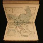 1856 1st ed History of Russian WAR Crimea Ottoman Empire MAPS Russia Sebastopol