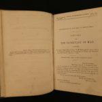1864 1ed George McClellan CIVIL WAR Letter Secretary of War Battle Strategy