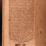 1696 1ed HOMER Critical History Classical Greek Küster Rhapsody Illiad Odyssey