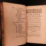 1761 Astruc Diseases of Women Medicine Gynecology Obstetrics Childbirth Baptism