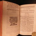 1664 Mercier SIGNED Officiis Scholasticorum & ERASMUS Civilitate Morum Pedagogy
